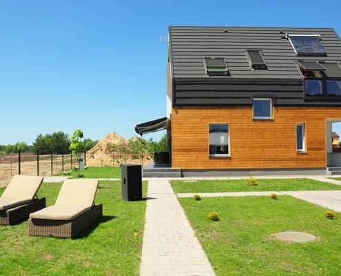Maison écologique bien isolée