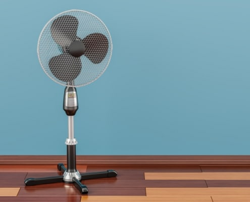 Ventilation : sur pieds ou colonne