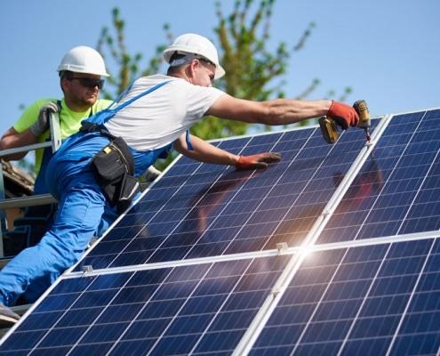 Panneau solaire ou photovoltaique